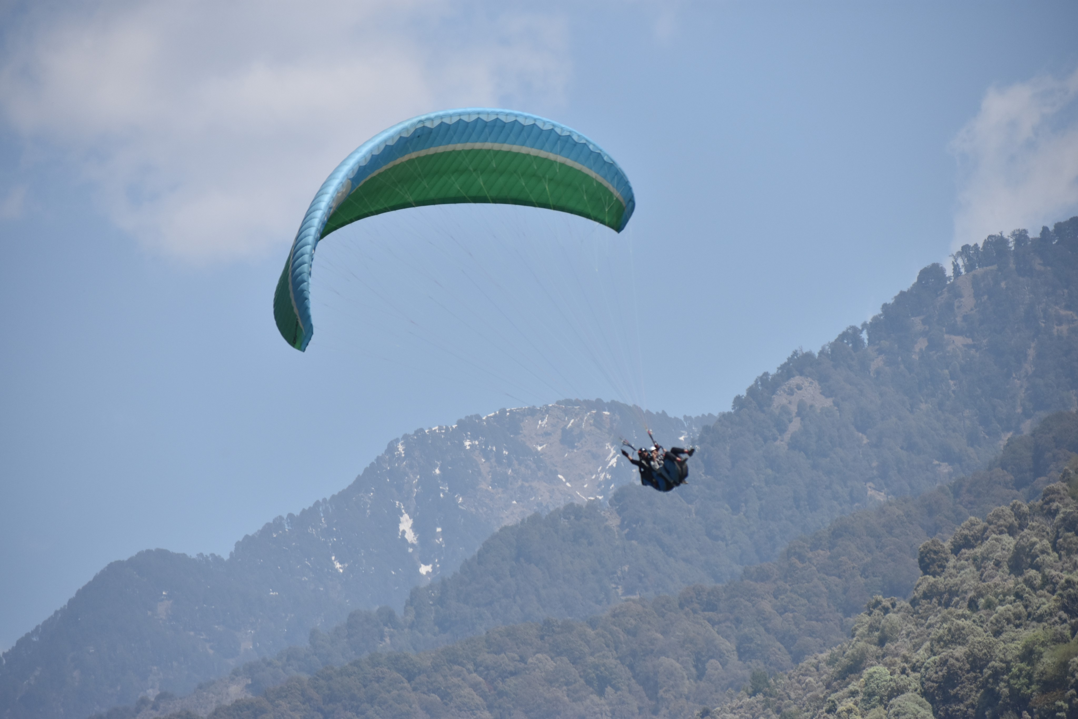 Flying Like A Bird At 8000 ft: My First Paragliding Experience in